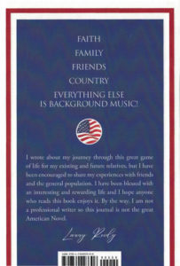 My Quest - Back Cover